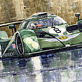 Bentley Prototype EXP Speed 8 Le Mans racer car 2001 Poster by Yuriy  Shevchuk