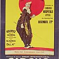Bertram Mills circus poster Print by Dudley Hardy