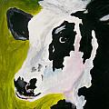 Bessy the Cow Print by Leo Gordon