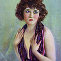 Betty Compson 1920 Poster by Stefan Kuhn