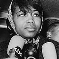 Betty Shabazz 1934-1997, Wife Print by Everett