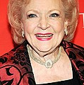 Betty White At Arrivals For Time 100 Poster by Everett