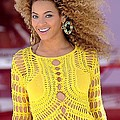 Beyonce Knowles Wearing A Julien Poster by Everett