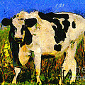 Big Bull 2 . 7D12437 Poster by Wingsdomain Art and Photography