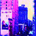 Big City Blues Print by Wingsdomain Art and Photography