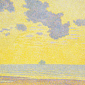 Big Clouds Print by Theo van Rysselberghe