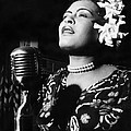 Billie Holiday Poster by Everett