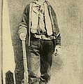 Billy The Kid 1859-81, Killed Twenty Print by Everett