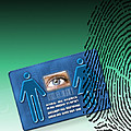 Biometric Id Card Poster by Victor Habbick Visions