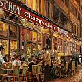 Bistrot Champollion Poster by Guido Borelli
