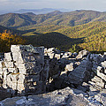 Black Rock Mountain Shenandoah National Park Poster by Pierre Leclerc Photography