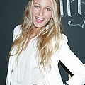 Blake Lively Wearing A Dolce & Gabbana Poster by Everett