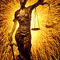 Blind Justice  Poster by Garry Gay
