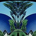 Blue Arches Print by Paul W Faust -  Impressions of Light