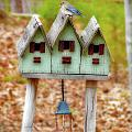 Blue Birds Castle Print by Laura Brightwood