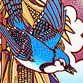 Blue Jay Print by Nadi Spencer