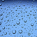 Blue Water Bubbles Poster by Frank Tschakert