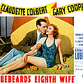 Bluebeards Eighth Wife, From Left Gary Poster by Everett