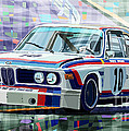 BMW 3 0 CSL 1st SPA 24hrs 1973 Quester Hezemans Poster by Yuriy  Shevchuk