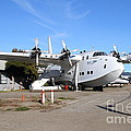 BOAC British Overseas Airways Corporation Speedbird Flying Boat . 7D11249 Print by Wingsdomain Art and Photography