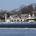 Boathouse Row - Philadelphia Print by Brendan Reals