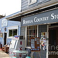 Bodega Country Store . Bodega Bay . Town of Bodega . California . 7D12452 Poster by Wingsdomain Art and Photography