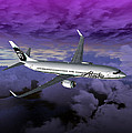 Boeing 737 NG 001 Print by Mike Ray