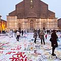 Bologna Cathedral Print by Andre Goncalves