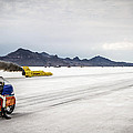 Bonneville Speed Week 2012 Poster by Holly Martin