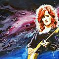 Bonnie Raitt Poster by Ken Meyer jr