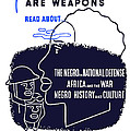 Books Are Weapons Poster by War Is Hell Store