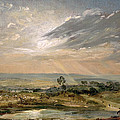 Branch Hill Pond Hampstead Poster by John Constable