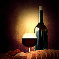 Bread and wine Poster by Lourry Legarde
