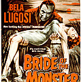 Bride Of The Monster, Bela Lugosi, 1955 Print by Everett