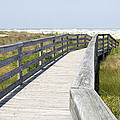 Bridge to the Beach Poster by Glennis Siverson