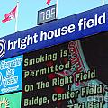 Bright House Field Poster by Carol Christopher