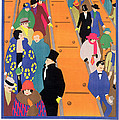 Brightest London is Best Reached by Underground Print by Horace Taylor