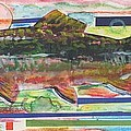 Brook Trout 1 Print by Michelle Grove