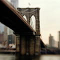 Brooklyn Bridge, New York City Poster by Photography by Steve Kelley aka