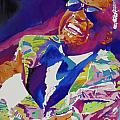 Brother Ray Charles Poster by David Lloyd Glover