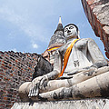 buddha statue in Thailand  by Thanawat  Wongsuwannathorn