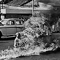 Buddhist Monk Thich Quang Duc, Protest Print by Everett