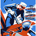 Build For Your Navy  Poster by War Is Hell Store