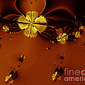 Bumble Beez Over Chocolate Lake . S19 Print by Wingsdomain Art and Photography