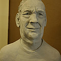 Bust Sculpture Poster by Terri  Meyer