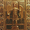 BYZANTINE ART: ST. MICHAEL by Granger