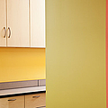 Cabinets in an Office Supply Room Print by Jetta Productions, Inc