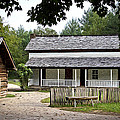 Cable Mill Home Place Cades Cove Poster by Mike Aldridge