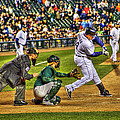 Cabrera Grand Slam Print by Nicholas  Grunas