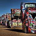 Cadillac Ranch Poster by Lana Trussell